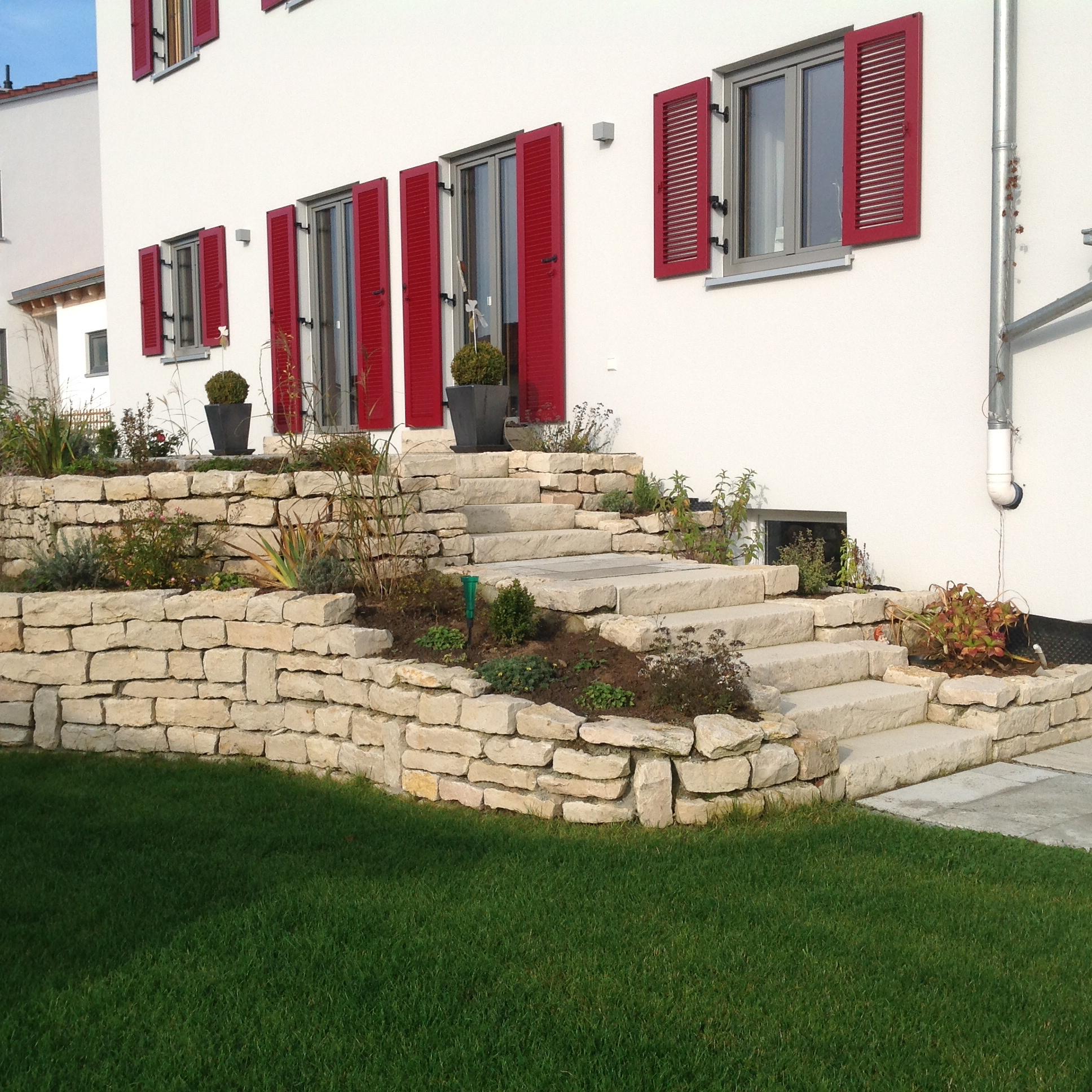 Natursteinmauer 3