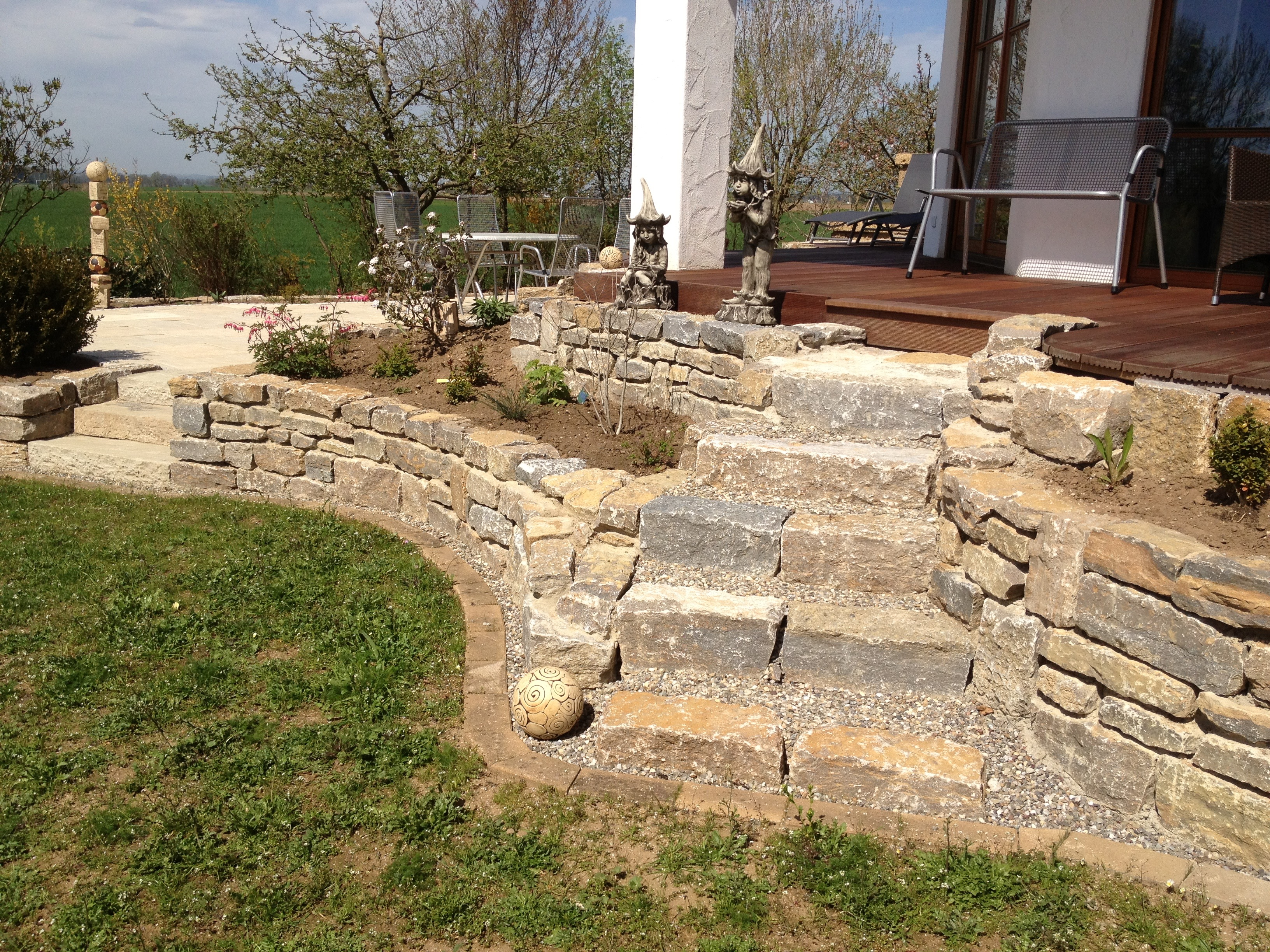 Natursteinmauer 6